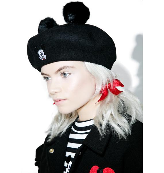 Lazy Oaf X Disney Mickey Mouse Beret