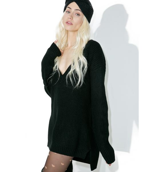 Lazy Lover V-Neck Sweater