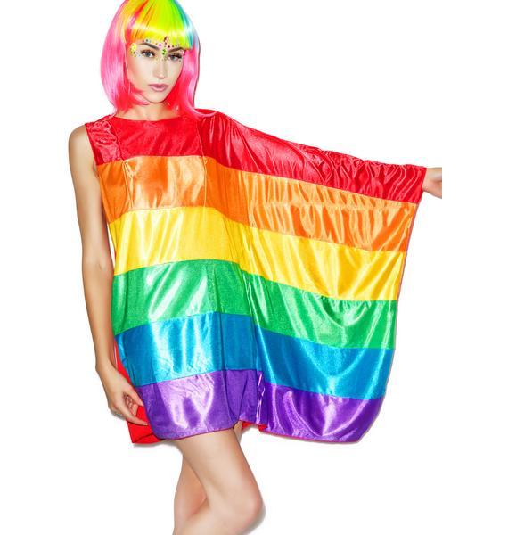 Rainbow Flag Dress