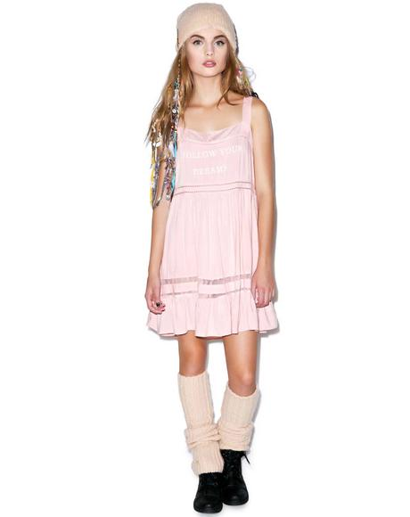 Follow Your Dreams Pinafore Slip