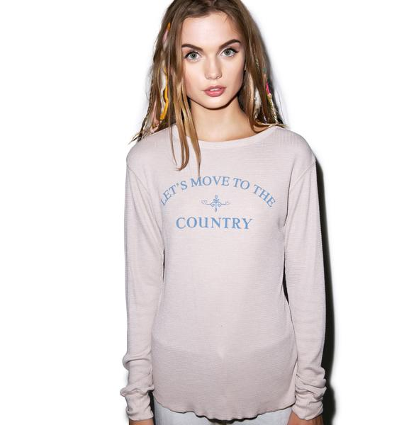 Wildfox Couture Moving Chalet Thermal