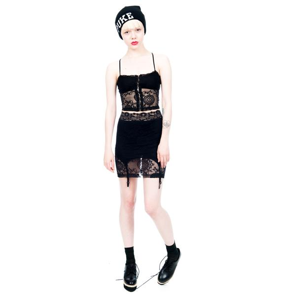 Lip Service Garter Skirt