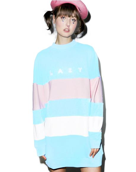 Lazy Stripe Sweatshirt