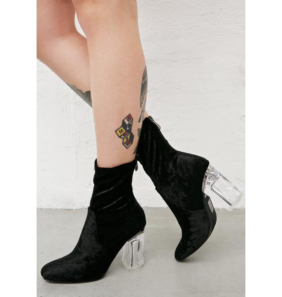 Velvet Midnight Saturn Boots