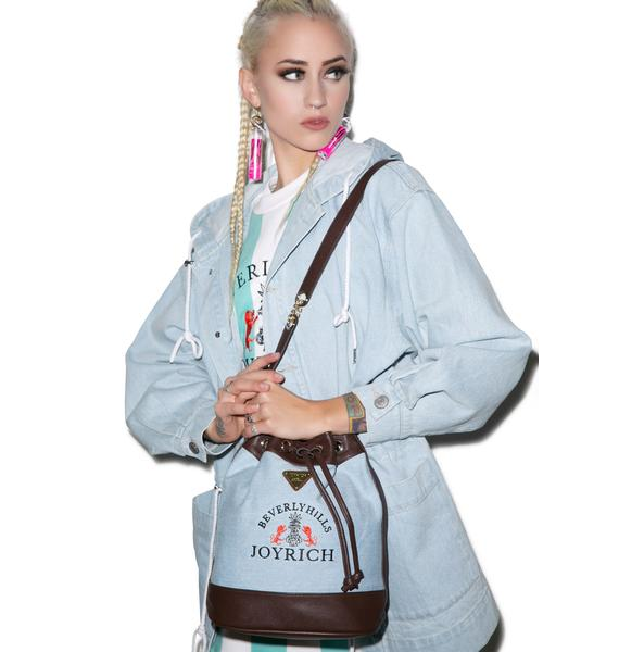 Joyrich High Beverly Hills Denim Bucket Bag