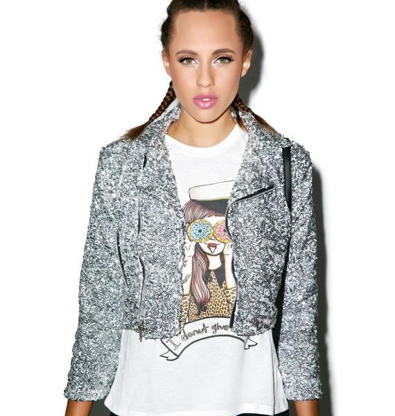 Valfré Glitter Me Moto Jacket