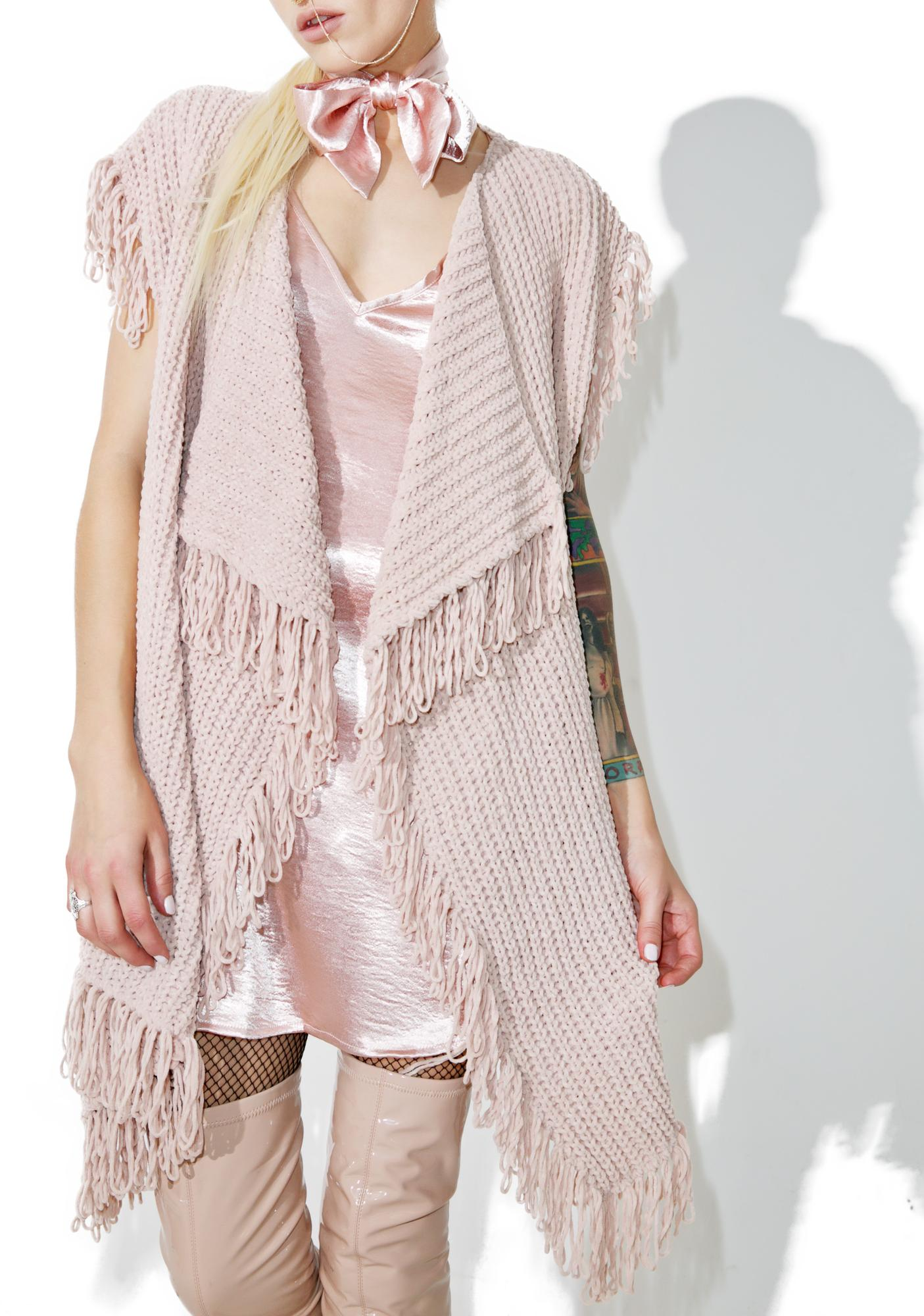 Heiress Fringed Cardigan