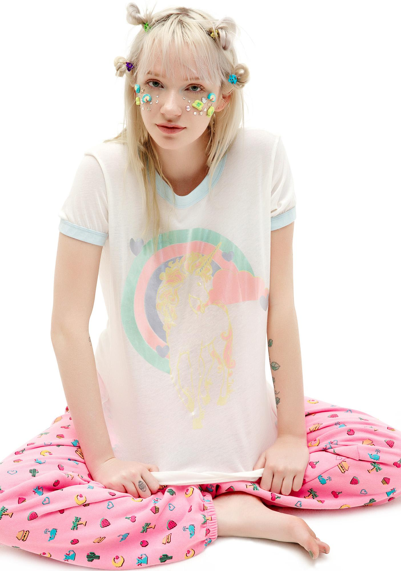 Wildfox Couture Majestic Vintage Ringer Tee