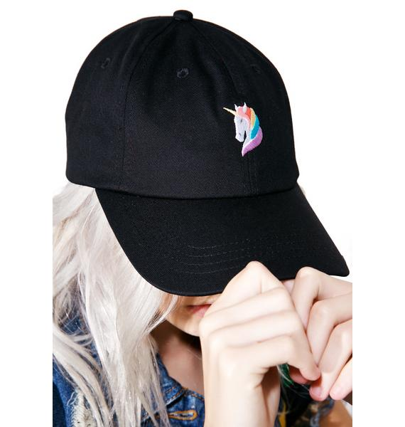 CRSHR Rainbow Unicorn Dad Hat