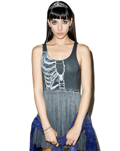Wishbone Tank Dress