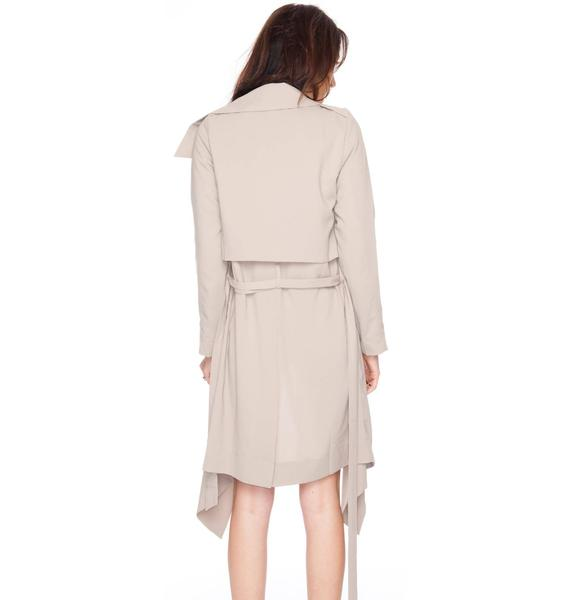 UNIF Flasher Trench Coat