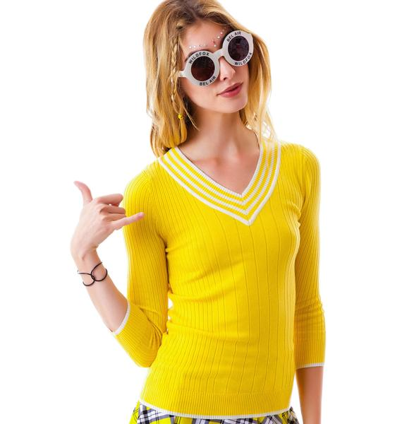 Buttercup Ribbed Sweater