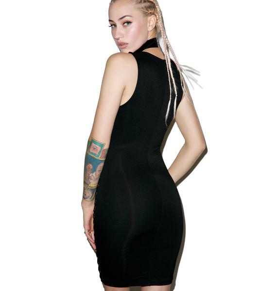 So Petty Bodycon Dress