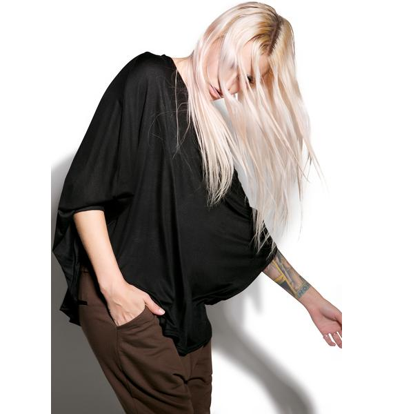MNML Can't Tell Me Nothin' Batwing Top