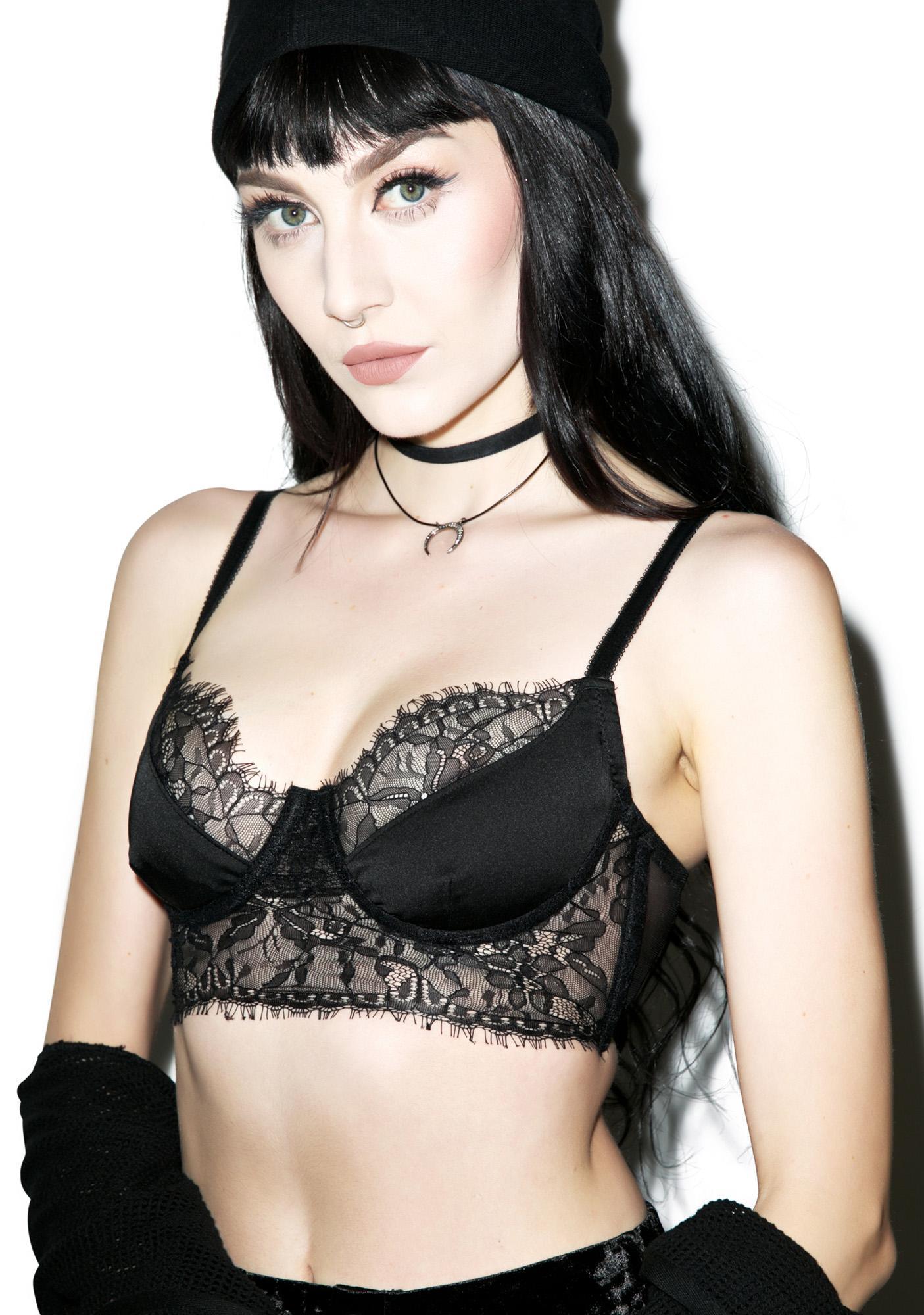 Widow Demeter Lace Bustier
