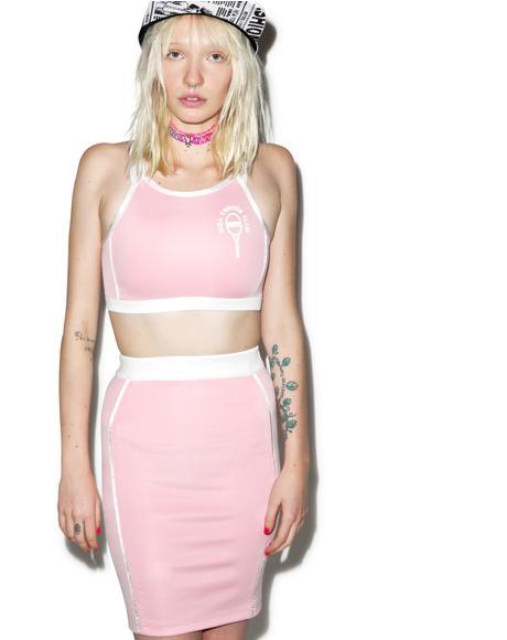 X GIZA Tennis Club Sports Tube Skirt