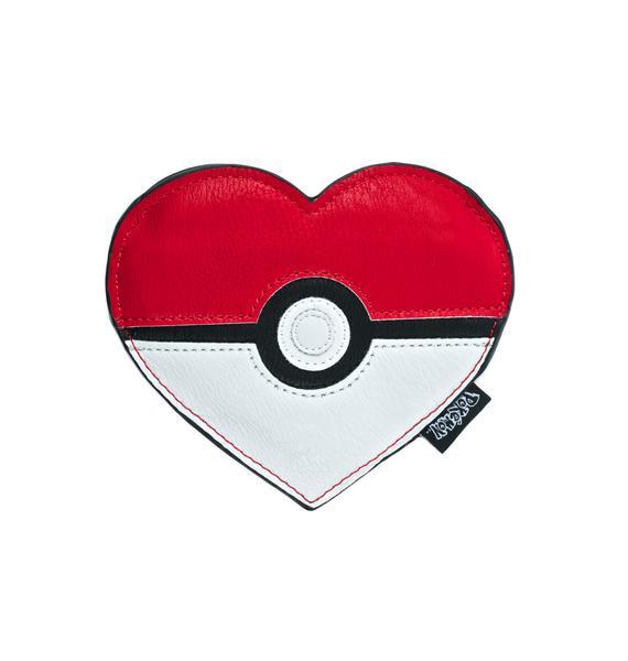 Loungefly X Pokémon Heart-Shaped Pokéball