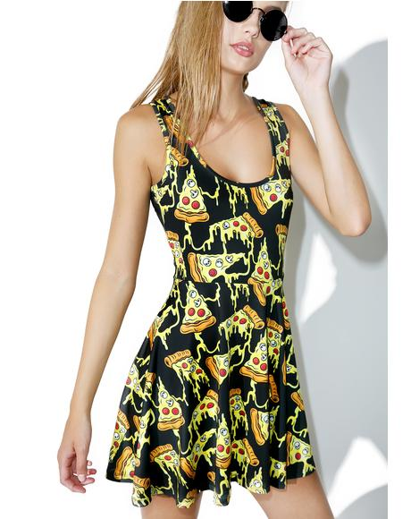 Pizza Party Skater Dress