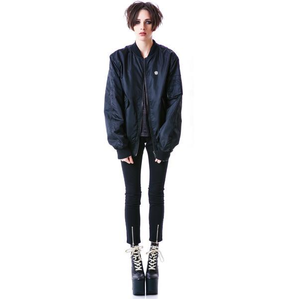 Long Clothing Charge Jacket