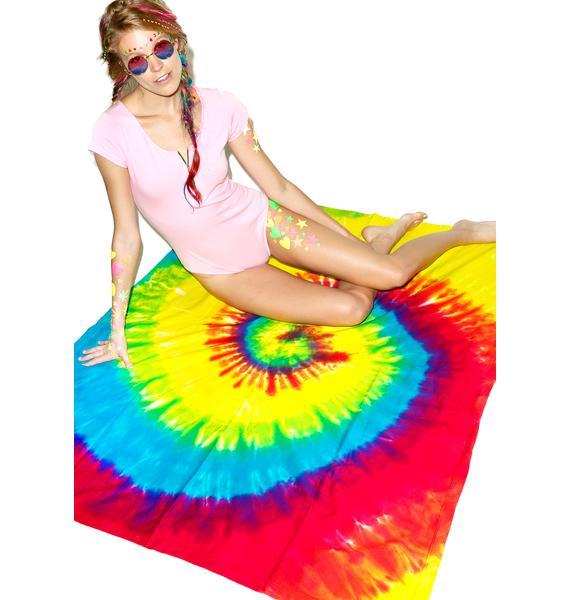 Reactive Rainbow Blanket