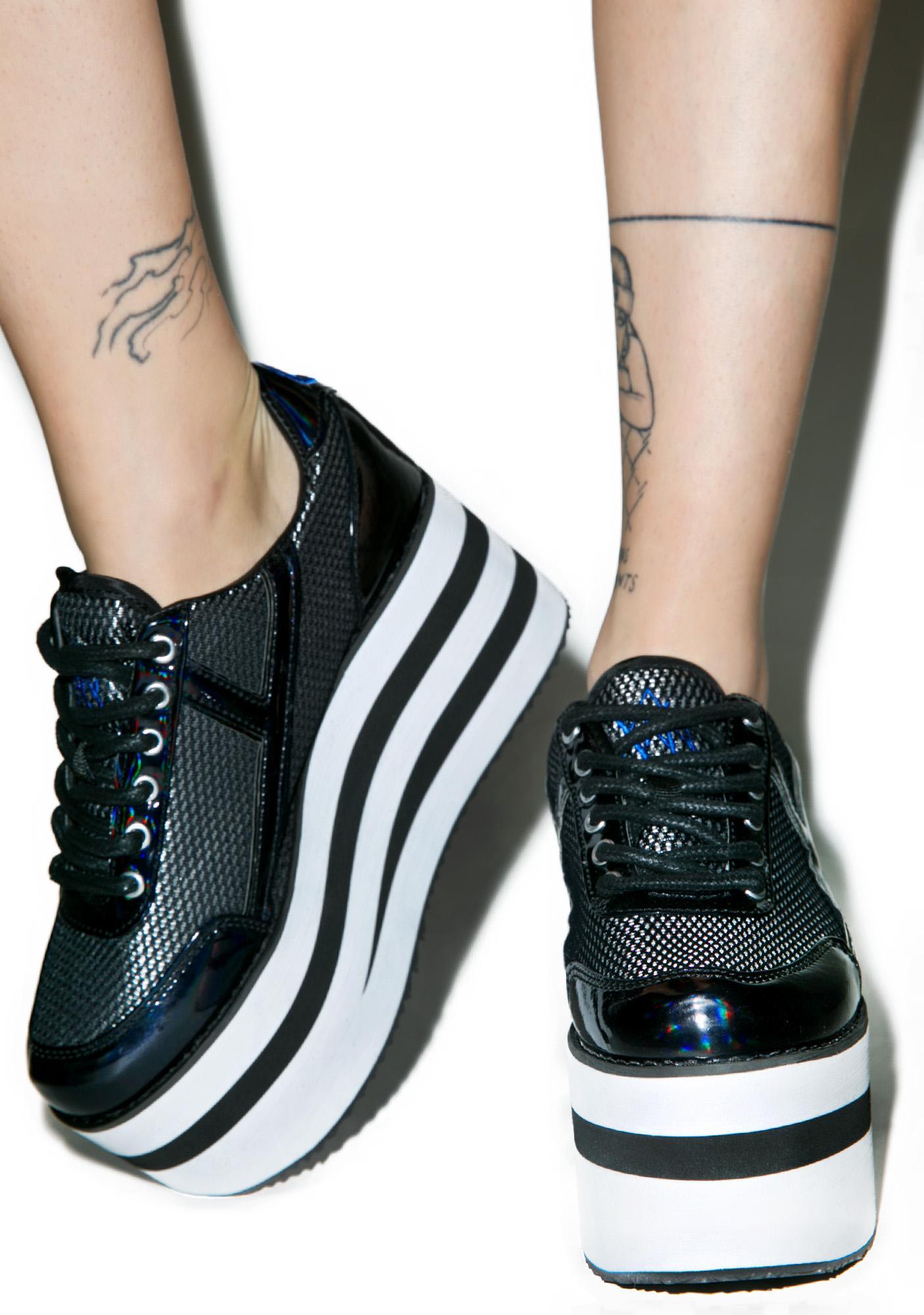 Y.R.U. Karazii II Platform Sneakers