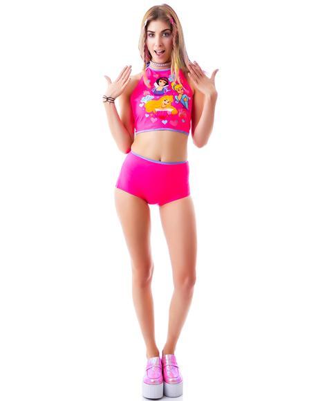 Lil Pretty Princess Bikini Briefs