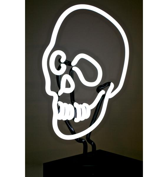 Neon MFG Skull Neon Light