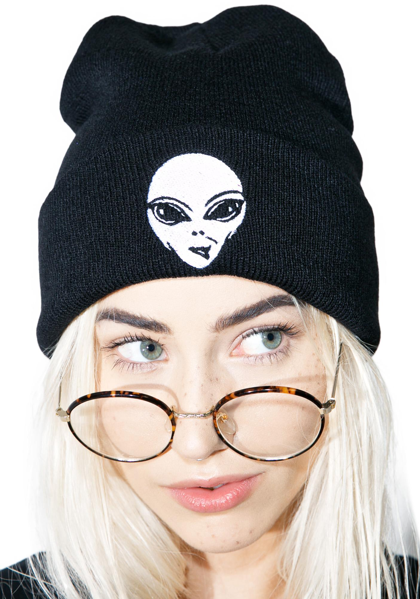 Social Decay Alien Beanie
