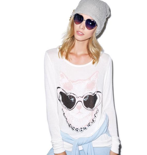 Lauren Moshi Addison Cat Long Sleeve