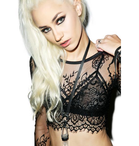 Lindsay Lace Crop Top