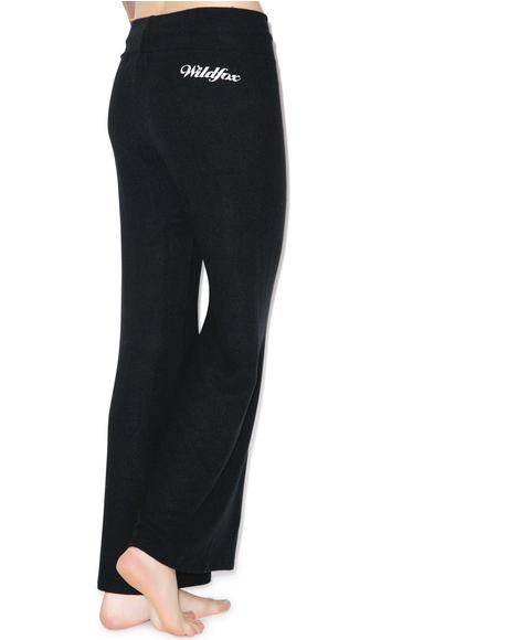 Scripted Wildfox Baggy Beach Pant