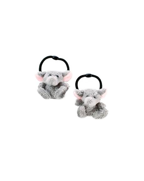 Marching Elephants Hair Tie Set