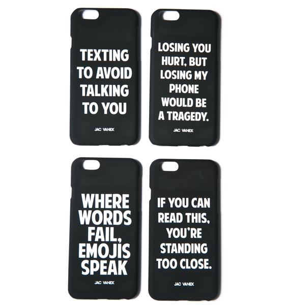 Jac Vanek Losing You iPhone 6 Case