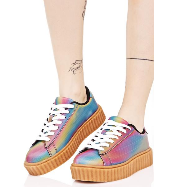 Feel It All Creeper Sneakers