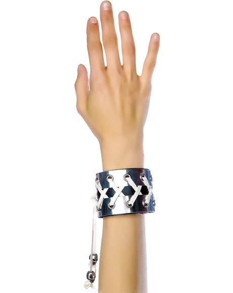 Fistful of Metal Corset Bracelet