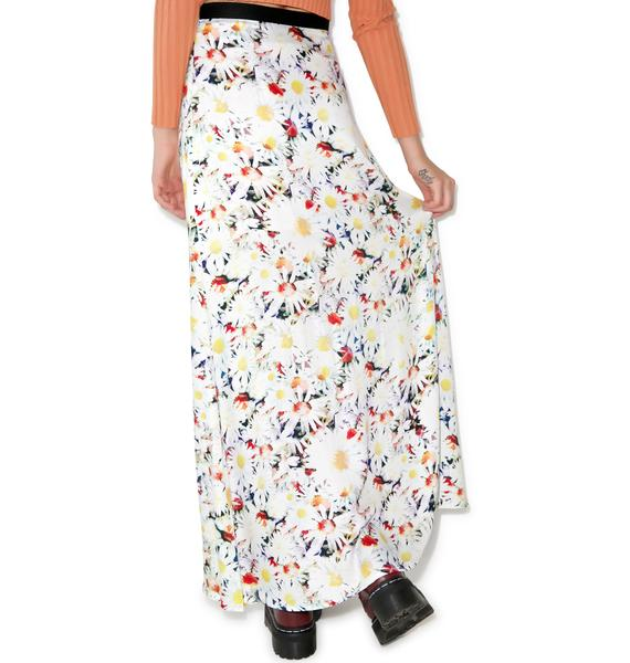 Mink Pink Fool For You Maxi Skirt