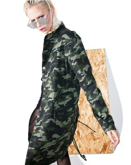 Army Brat Camo Jacket