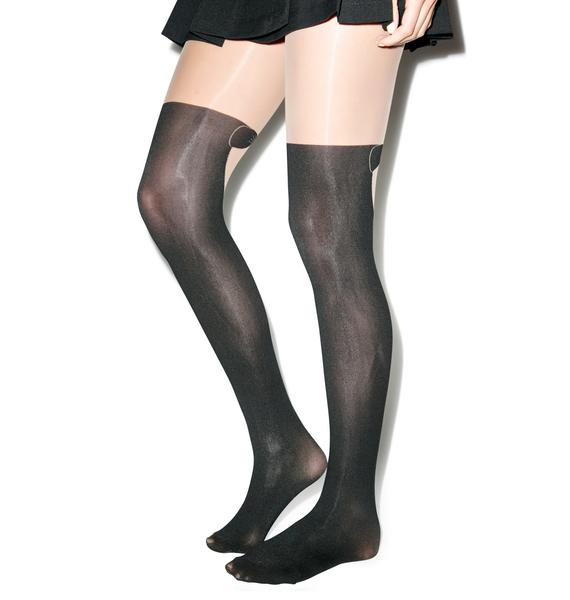 Pretty Polly Formal Over The Knee Tights