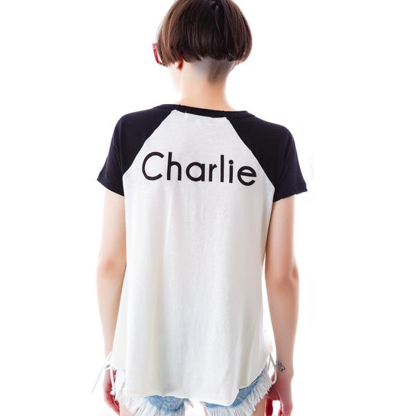 Wildfox Couture Charlie Retro Raglan