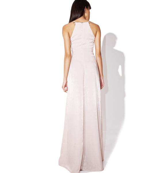 Blush Rosy Cheeks Maxi Dress