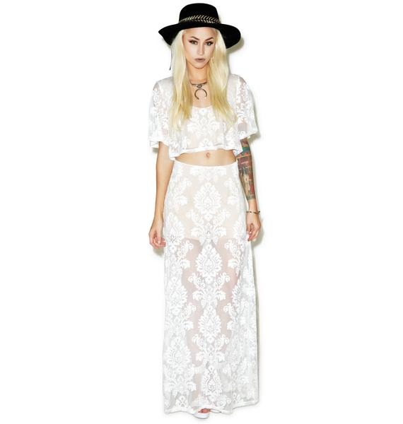 Dusk to Dawn Maxi Skirt