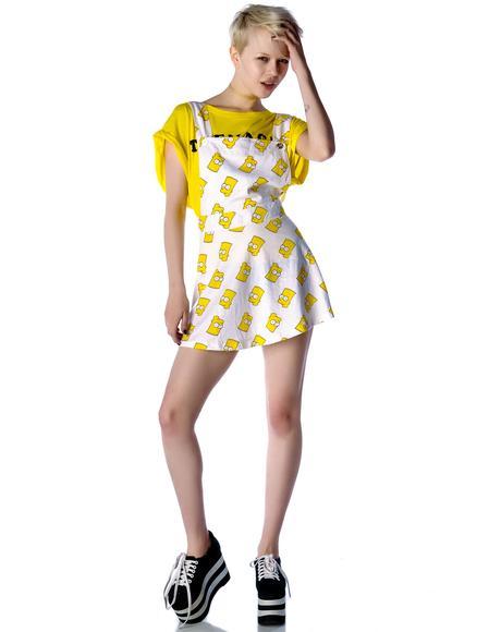 Bart Pinafore Dress