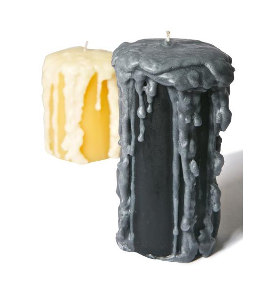 Wick[ed]  Pre-Dripped Night Candle
