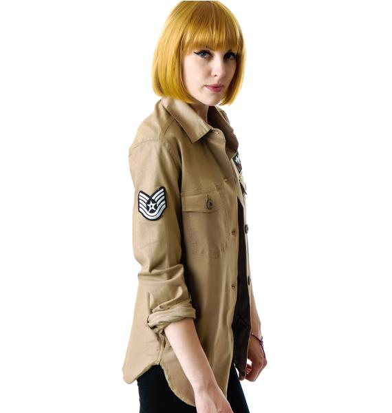 All Star Legends Military Jacket