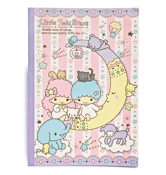 Sanrio Little Twin Stars Notebook