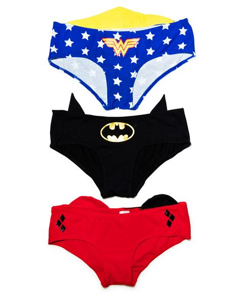 Justice League 3-Pack Panties
