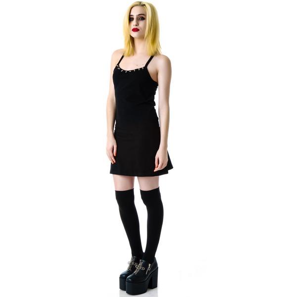 Dark Requiem Spiked Dress