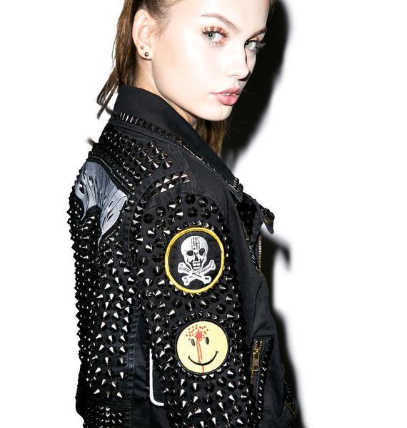Hazmat Design Black Masses Jacket