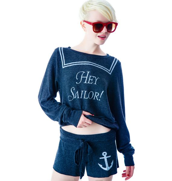 Wildfox Couture Hey Sailor Cutie Shorts