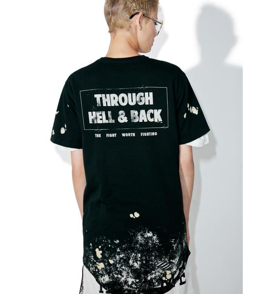 Civil Clothing Through Hell & Back Thrashed Drop Tee